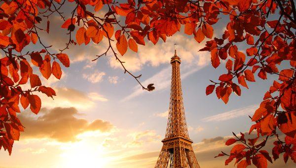 Романтика осеннего Парижа